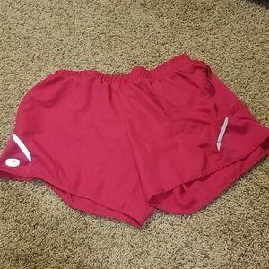 Sugoi pink lined shorts sz m NWOT